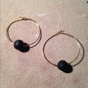 Jewelry - Lava Stone Essential Oil Diffuser Earrings