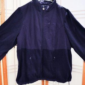 Jacket, plus size, women, purple, 3x, fleece