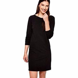 NWT Lolë black 'Louisa' long sleeve dress