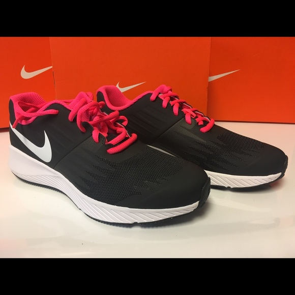 Nike Star Runner shoes sneaker girls pink 5 5Y new