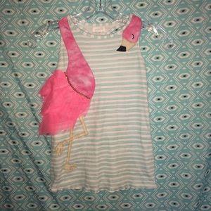 Other - Super cute flamingo dress