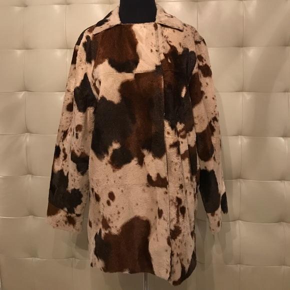 Fjäll Jackets & Blazers - Faux fur pony skin jacket