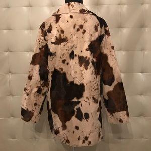 Fjäll Jackets & Coats - Faux fur pony skin jacket