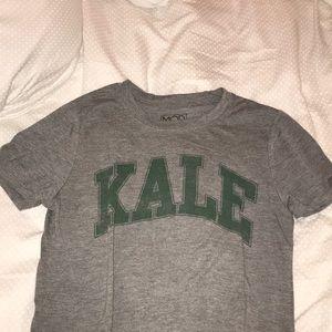 KALE grey T-shirt