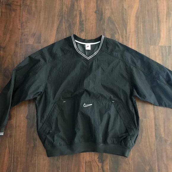 vintage nike windbreaker sweatshirt small