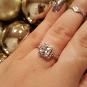 swarovski sterling silver ring - Swarovski Wedding Rings