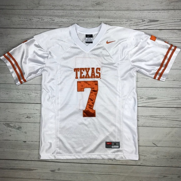 reputable site f66bc a7968 Nike Texas Longhorns Jersey #7