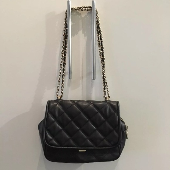67% off Zara Handbags - Zara black & gold quilted crossbody bag ... : zara quilted city bag - Adamdwight.com