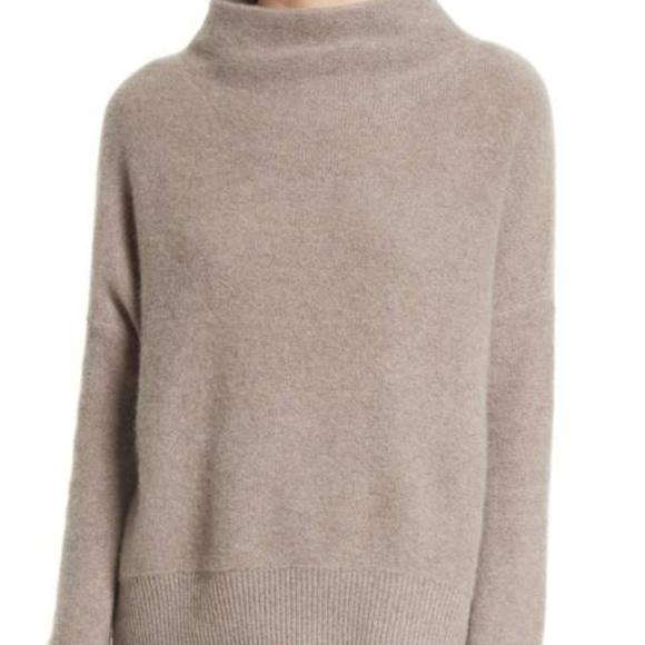 28d1b4f7d51fa4 Vince Cashmere Funnel Neck Sweater. M_5a1b745036d5947e73099444