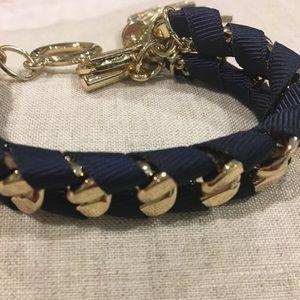 Navy & Gold Bracelet