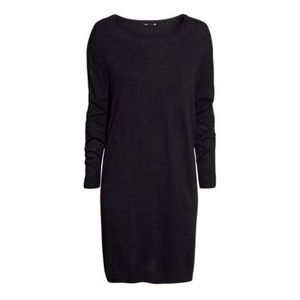 H&M black sweater dress