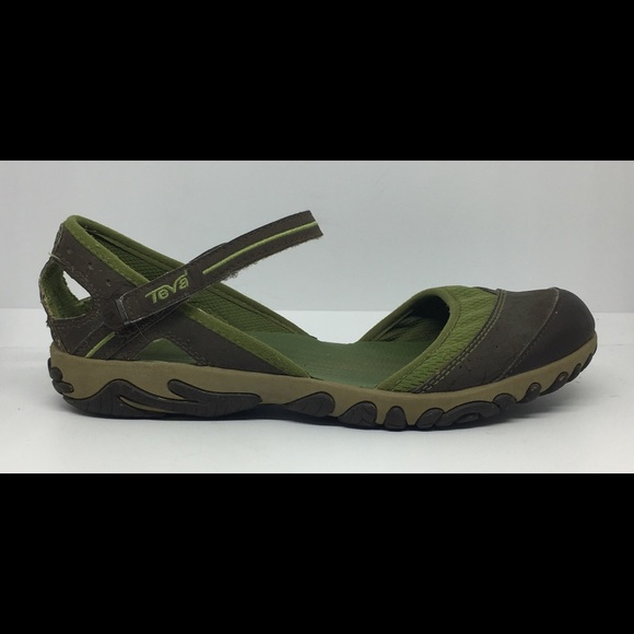 c0f739faeb697c Teva Sz 7 Green Gray Westwater Mary Jane Shoes. M 5a1b78312fd0b78bfd09bbbc