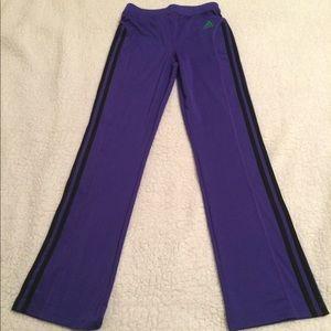 🛍 2 for $5 SALE 🛍Adidas Purple Workout Pants