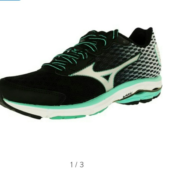 the latest 08d34 09dc6 Mizuno Women's Wave Rider 18 running shoes size 8W