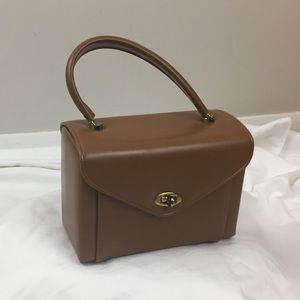 Vintage Tan Box micro Bag