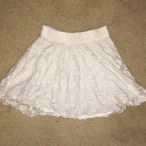 White Hollister Skirt