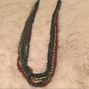 Beautiful Red/White/Blue necklace