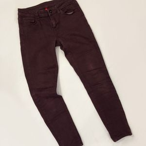 Burgundy Uniqlo jeans