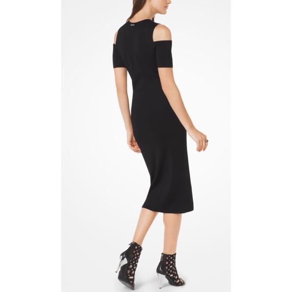 2d1062e33581 Michael Kors Black Midi Dress. M_5a1b7f3736d594782309db65