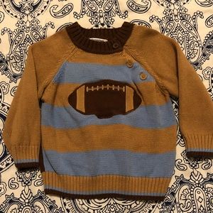 Hartstrings striped sweater, 12-18 month