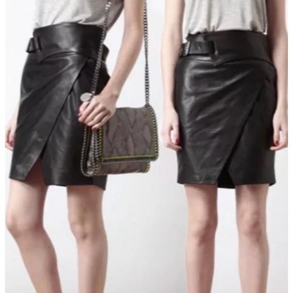 8e473c156e Guess by Marciano Skirts | Masha Leather Skirt 10 | Poshmark