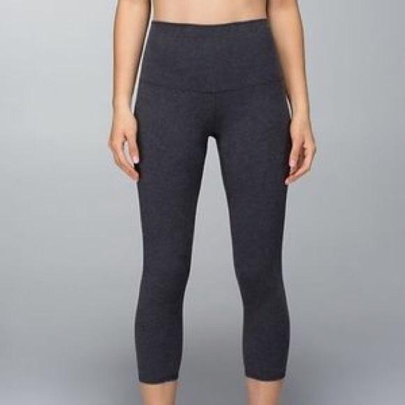 3611a01c3b410 lululemon athletica Pants | Lululemon Leggings Dark Grey Size 6 ...