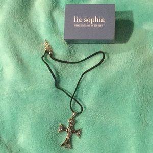 NIB Cross necklace