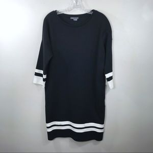 Vince Sweatshirt Dress