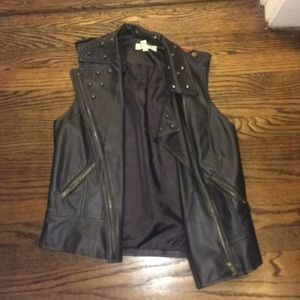 Urban Outfitters leather vest