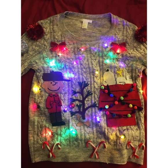 Sweaters Charlie Brown Ugly Christmas Sweater Poshmark