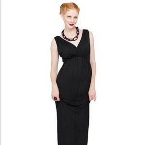 Imanimo Maternity Navy Dress