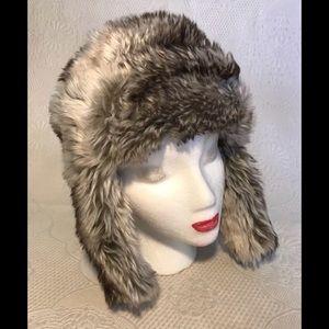 KANGOL faux fur trapper hat