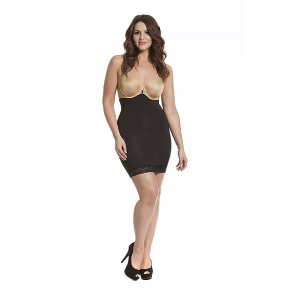 f653ad977c HookedUp Shapewear Women s High Waist Shaping Slip