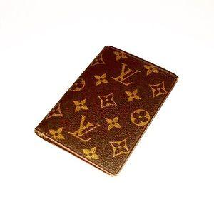 Authentic Vintage Vuitton Monogram Bifold Wallet