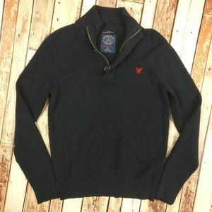 American Eagle Athletic Fit Navy Men's Sweater