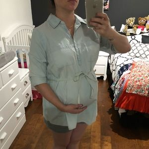 Jean Maternity Top
