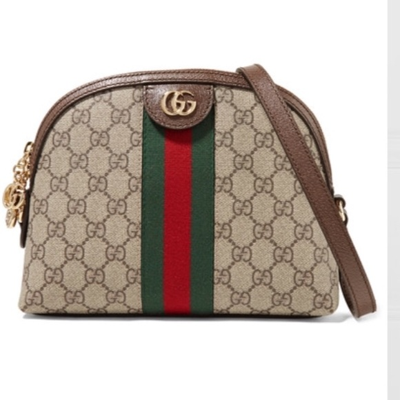 d387bef39b1 ❌Final price Gucci Ophidia leather-canvas bag