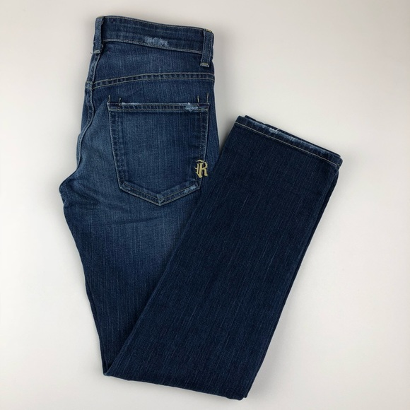 Rich & Skinny Denim - Rich & Skinny Straight Jean