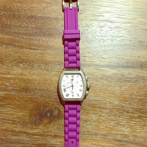 Purple rubber band fossil