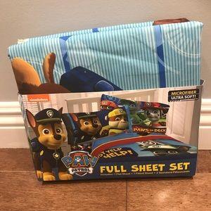 Paw Patrol flat sheet