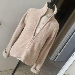 🍁COZY COZY COZY Camel Sweater-Jacket!