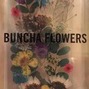 Real flower iPhone 7 case