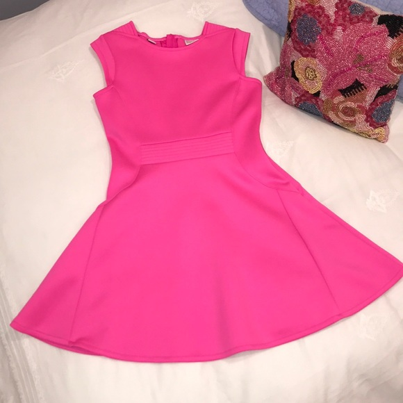 7f8941b449ed0 Baker by Ted Baker Other - Ted Baker Shocking Pink Scuba Dress Size 8