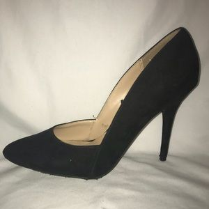 Unlisted Suede Pumps