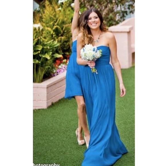 b1061093a36d5 J. Crew Dresses | J Crew Arabelle Gown In Matisse Blue Size 4 | Poshmark