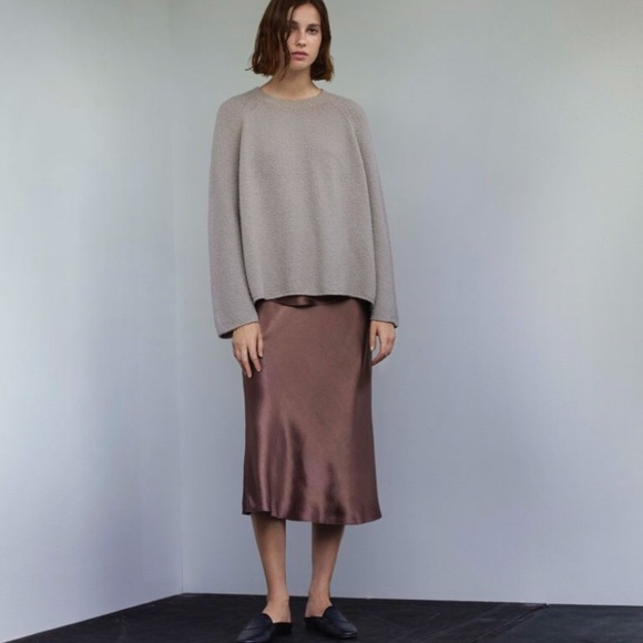 Vince Satin Skirt