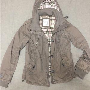 Aeropostale brown utility jacket