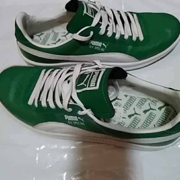Puma Hombre Zapatos Hombre Puma Verde Blanco Tennis Sale Poshmark 5a88fc
