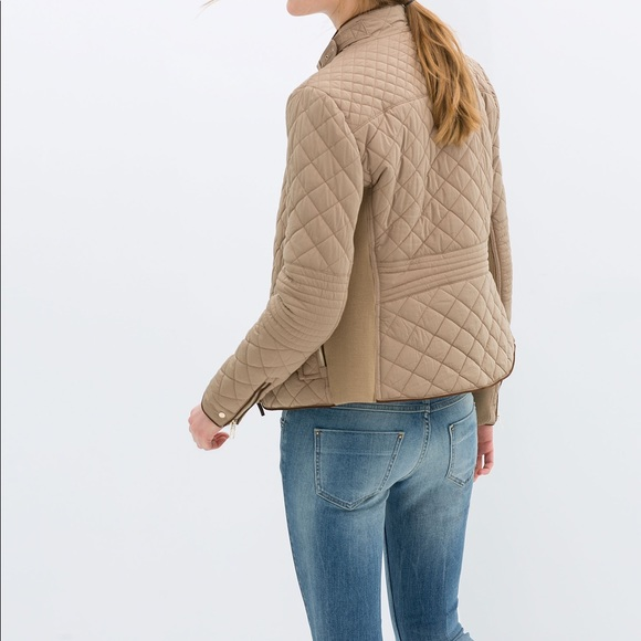 6419ff3cc Zara quilted jacket