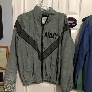 ‼️Army‼️Reflective Wind Breaker